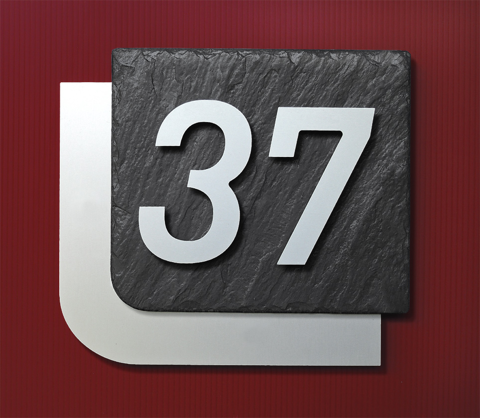 Hausnummer Modern hausnummer modern hausdesign pro