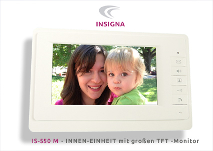 KIO TIMES Made in Germany, Sprechanlage, Video, 2-Draht, Einfamilienhaus, Monitor, LCD,