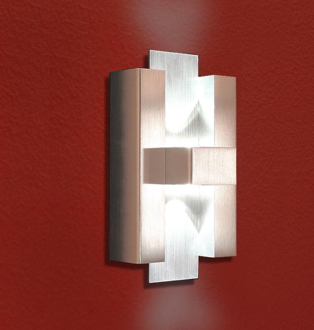 Design, LED, Edelstahl, UP&Down, Strahler, Schiefer, HERMES,panton,Aussen, Exclusive