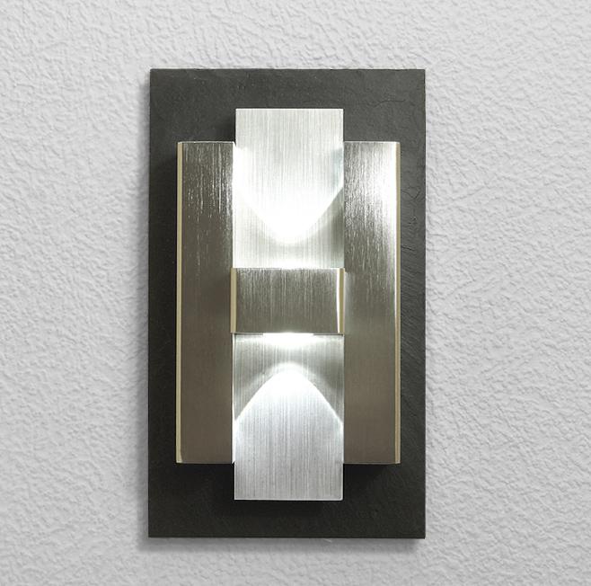 Design, LED, Edelstahl, UP&Down, Strahler, Schiefer, HERMES,panton, exclusive