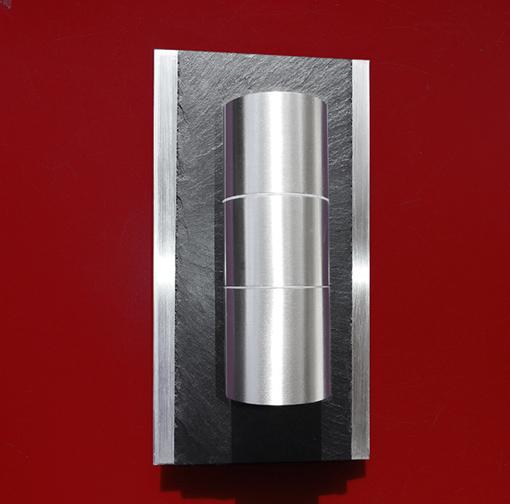 Design LED Edelstahl UP&Down Strahler Schiefer KIO TIMES