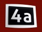 Mobile Preview: 32 Smart Design 3D Hausnummer AVENUE AC mit Acryl