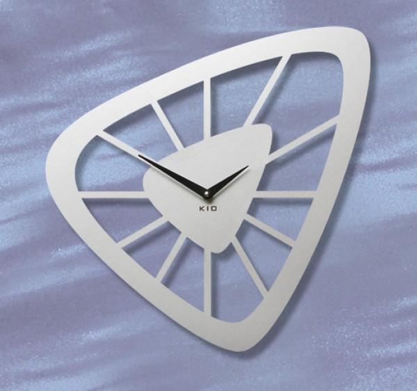 Kio Times Design Hausnummer Hausklingel Briefkasten Edelstahl ... Designer Wanduhren Modern
