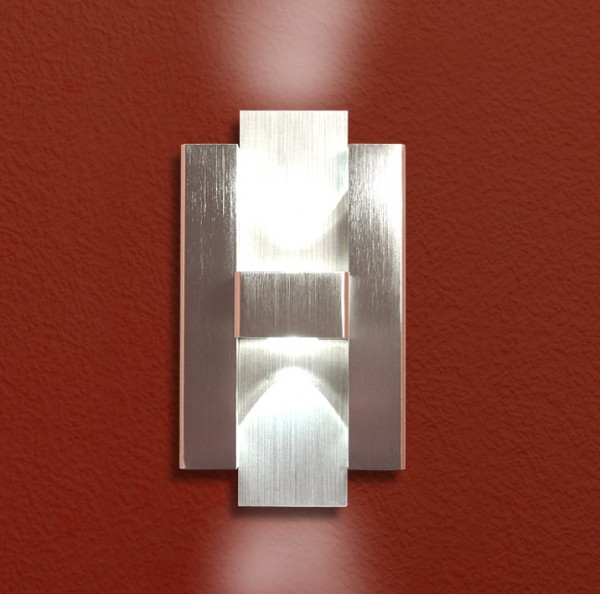 02 Belle-Hermes PUR Up & Down LED Design Wandleuchte