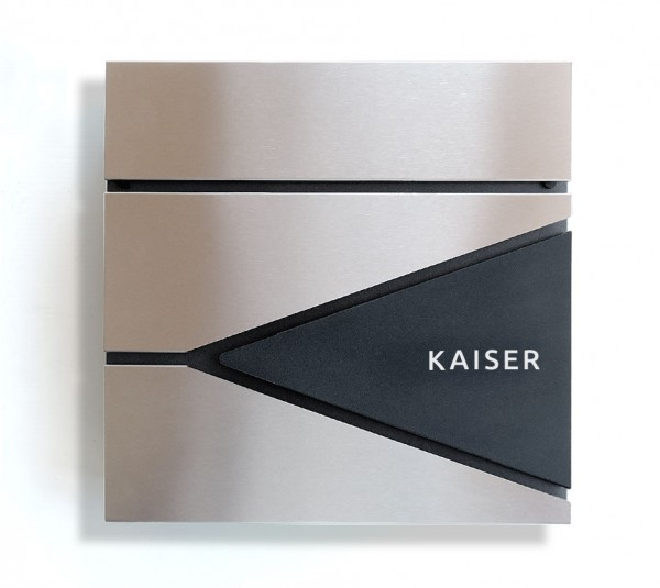 052 Castle Design Haus 3D - Tür- Klingel mit Schiefer Bürst-Sati