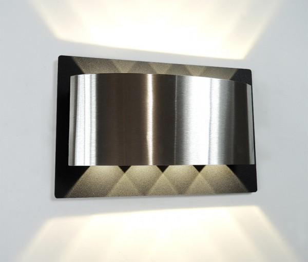 COB,Design,Wandleuchte, LED, Up & Down, Edelstahl,Anthrazit,