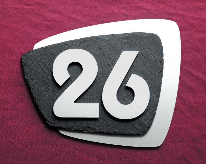 Moderne Hausnummern kio times design hausnummer hausklingel briefkasten edelstahl