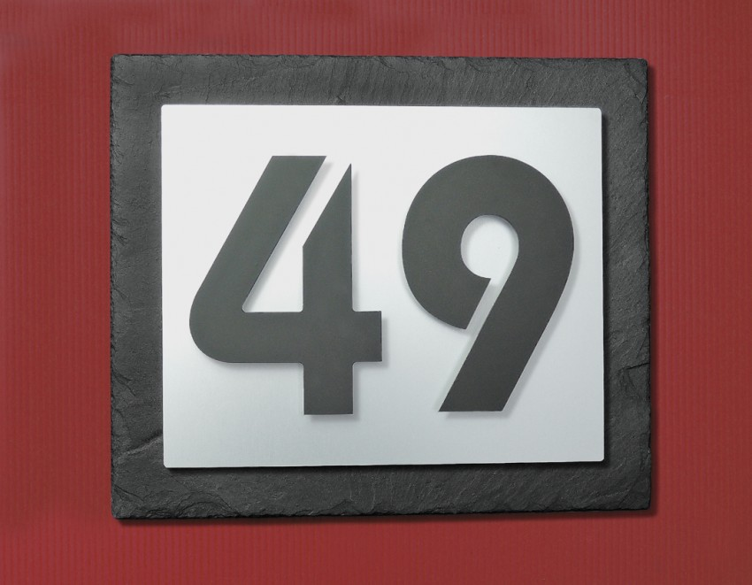 Hausnummer Modern kio times design hausnummer hausklingel briefkasten edelstahl