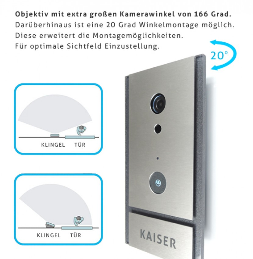 VIDEO,DOORBELL,SIP,IP,LAn,WLAN,KIO TIMES, sehr gut